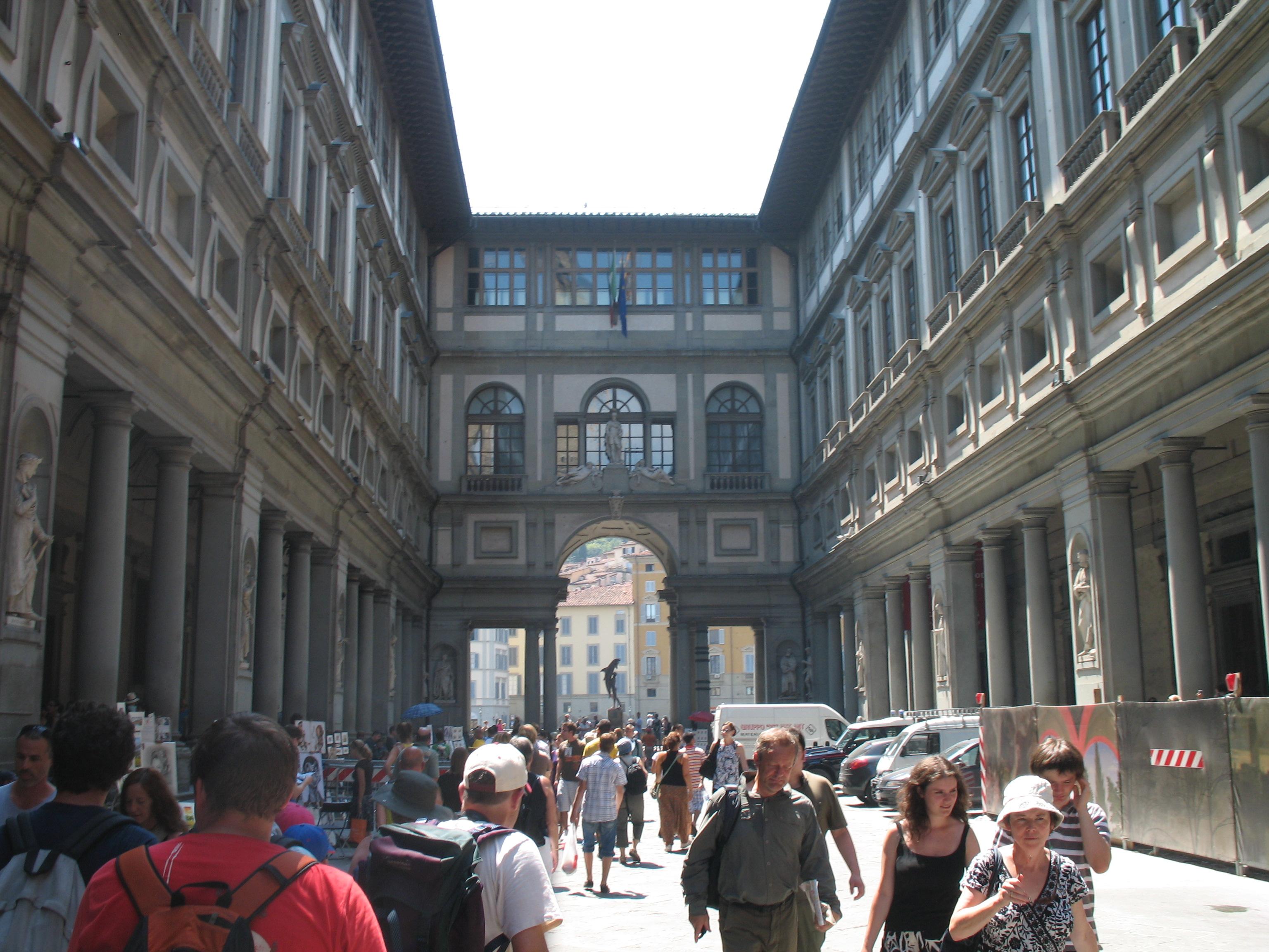 Galerie des offices voyages en italie - Galerie des offices a florence ...