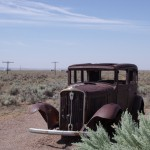 Route 66 au Painted Desert