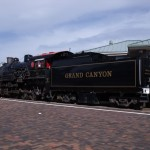 Ancien train du Grand Canyon