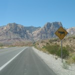 Vers Red Rock Canyon