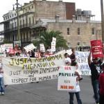 Manifestation à la Nouvelle Orléans